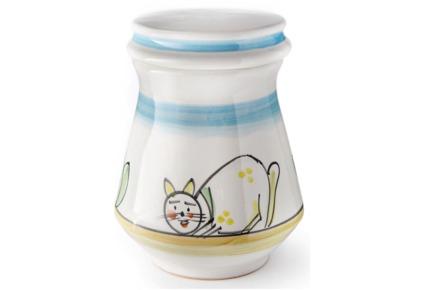 Urna in ceramica realizzata artigianalmente - Collezione Atrani