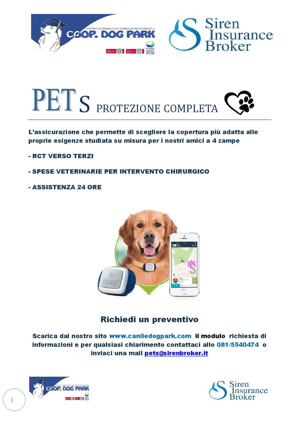Assicurazione PetS